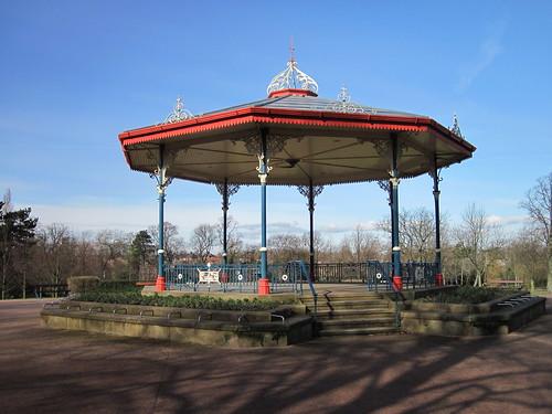 Bandstand, Ropner Park