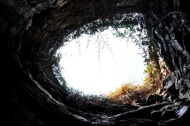 entrance to the Belum Caves near Kurnool