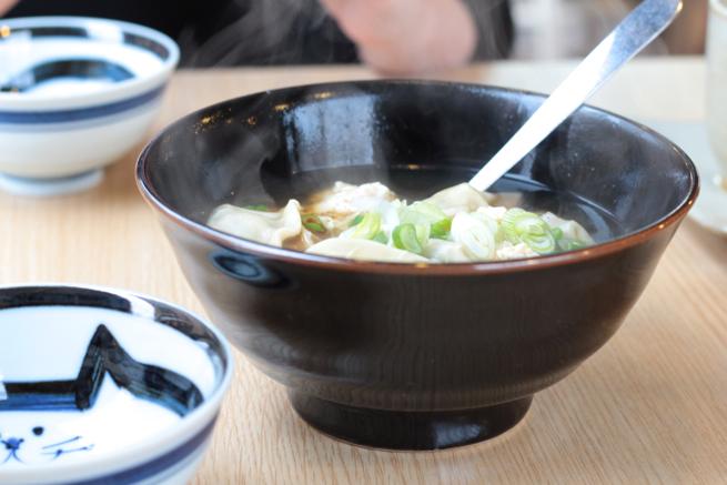 toppoki dumpling soup