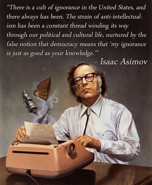 asimov-anti-intellectualism