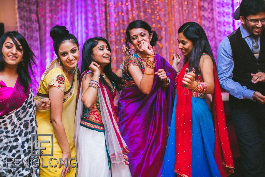 Pallavi & Arvind's Sangeet | Ashiana | Atlanta Indian Wedding Photography