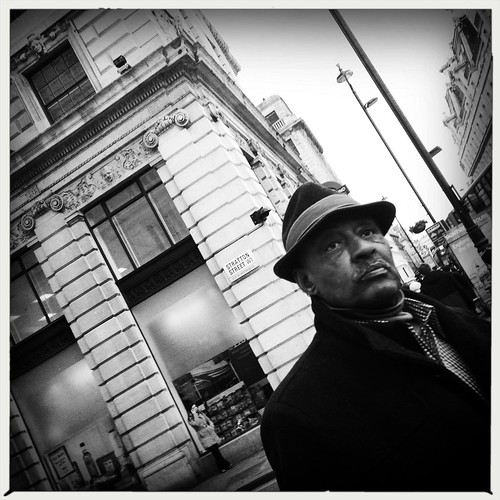 Man in a hat by Darrin Nightingale