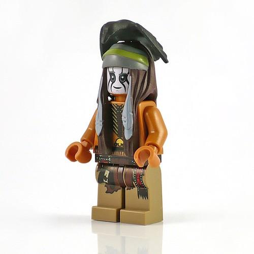 The Lone Ranger 79107 Comanche Camp figs02