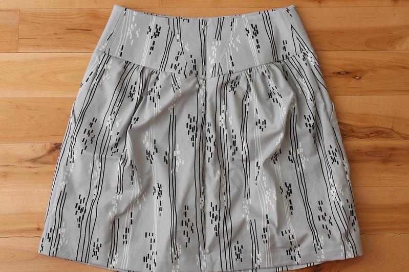 Crescent Skirt - Back