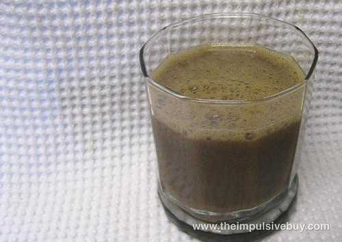 Silk Iced Latte Coffeehouse Drink Vanilla Closeup