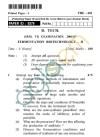 UPTU: B.Tech Question Papers -TBE-601 - Fermentation Biotechnology-II