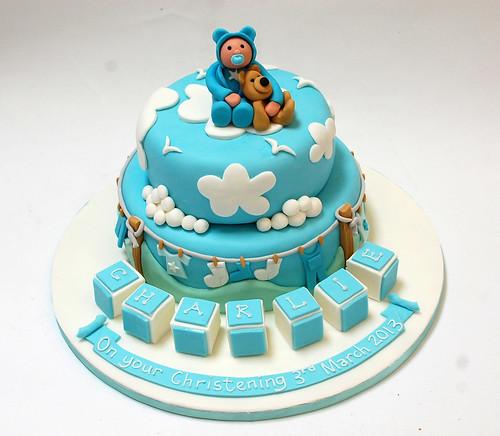 Cristarella Cakes Children S Cakes: Cute Baby Christening Cake