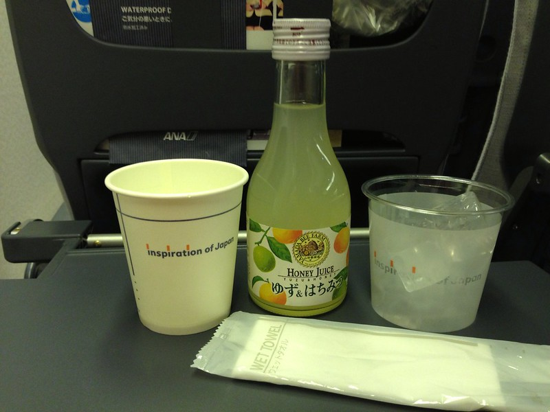 Beverage Service onboard ANA