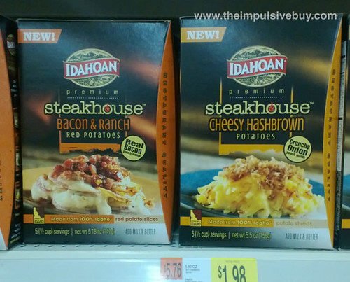 Idahoan Premium Steakhouse Potatoes 1