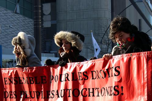2013-02-10 - Rassemblement & #manifencours #IdleNoMore (Fini l'Inertie)