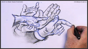 draw hand positions