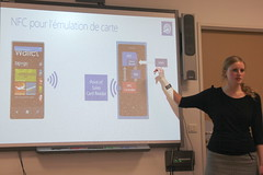 Julie Knibbe, Microsoft et la programmation NFC
