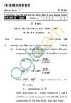 UPTU: B.Tech Question Papers -TCH-601 - Mass Transfer-II
