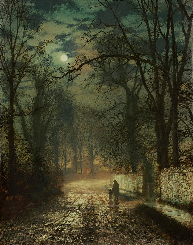 A Moonlit Lane