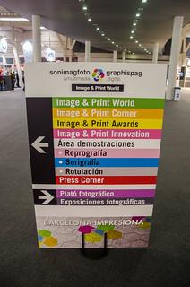 Guía de direcciones de Sonimagfoto2013 en la feria de Gran Via 2, Hospitalet de Llobregat