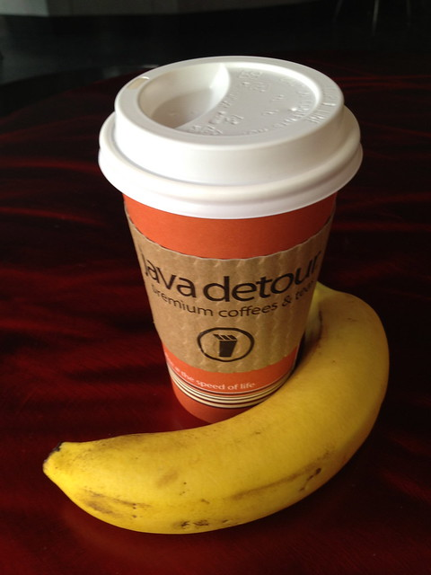 Coffee and banana - Java Detour