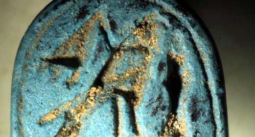 LAZIO ARCHEOLOGIA e BENI CULTURALI: Scarabeo egizio [746-525 a.C] in necropoli etrusca In parco Vulci nel Viterbese, gia' scoperta anche tomba sfinge, ANSA, IL MESSAGGERO, e LA REPUBBLICA  (24/04/2013). by Martin G. Conde