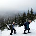 Steep Snowshoe Ascent