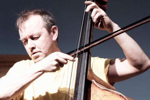 Harris Eisenstadt Trio with Alexander Hawkins, John Edwards @ Leeds University, 8.2.13