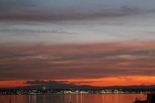 Geneva Lake by night