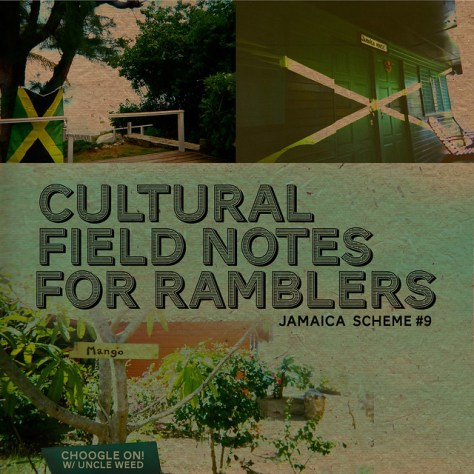 Cultural Field Notes For Ramblers