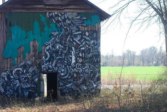 cameron, nc painted barns