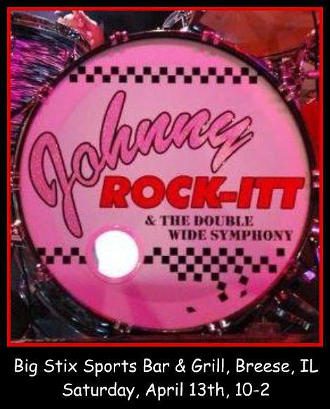 Johnny ROCK-ITT 4-13-13