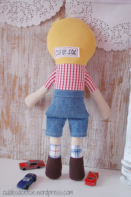 Henri, eco-friendly boy doll