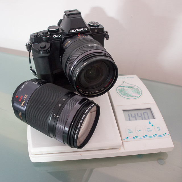 Losing weight with the Olympus OMD EM5