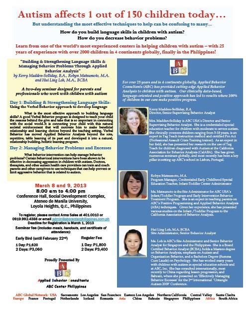 seminar builing and strenghtening language