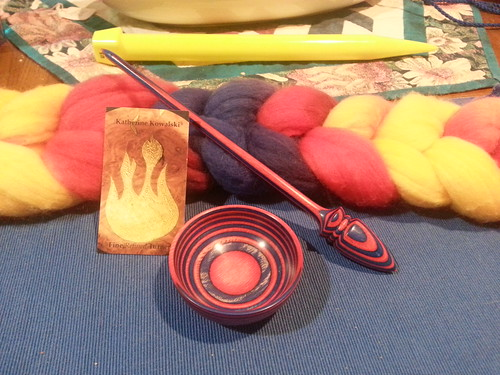 New Russian spindle! by Miss Knotty