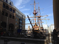 The Golden Hinde II, Southwark, London
