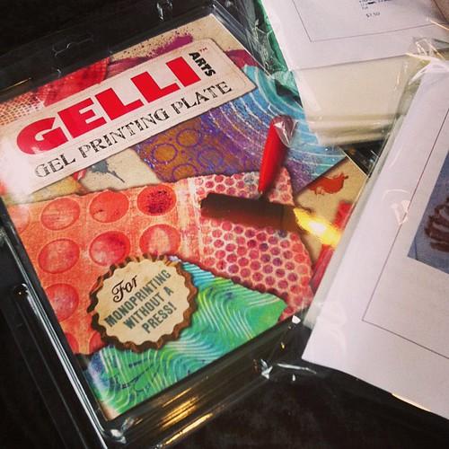 Day 87/365 (2013): Gelli Plate!