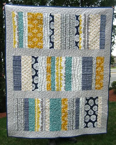 Spring Stripes I quilt