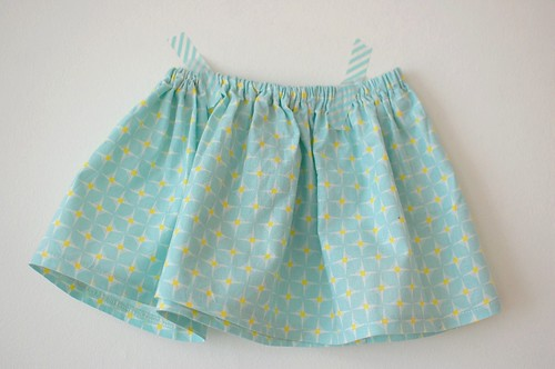 Simple baby skirt by azmiat