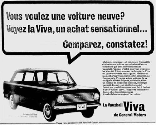 Vauxhall Viva HA ad
