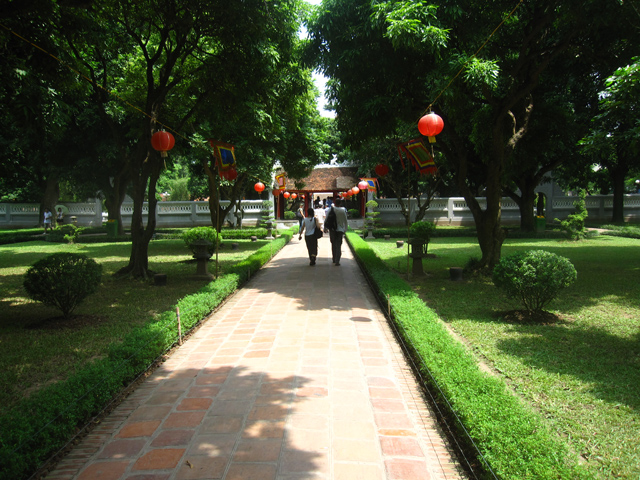 Entering the Temple of Literature