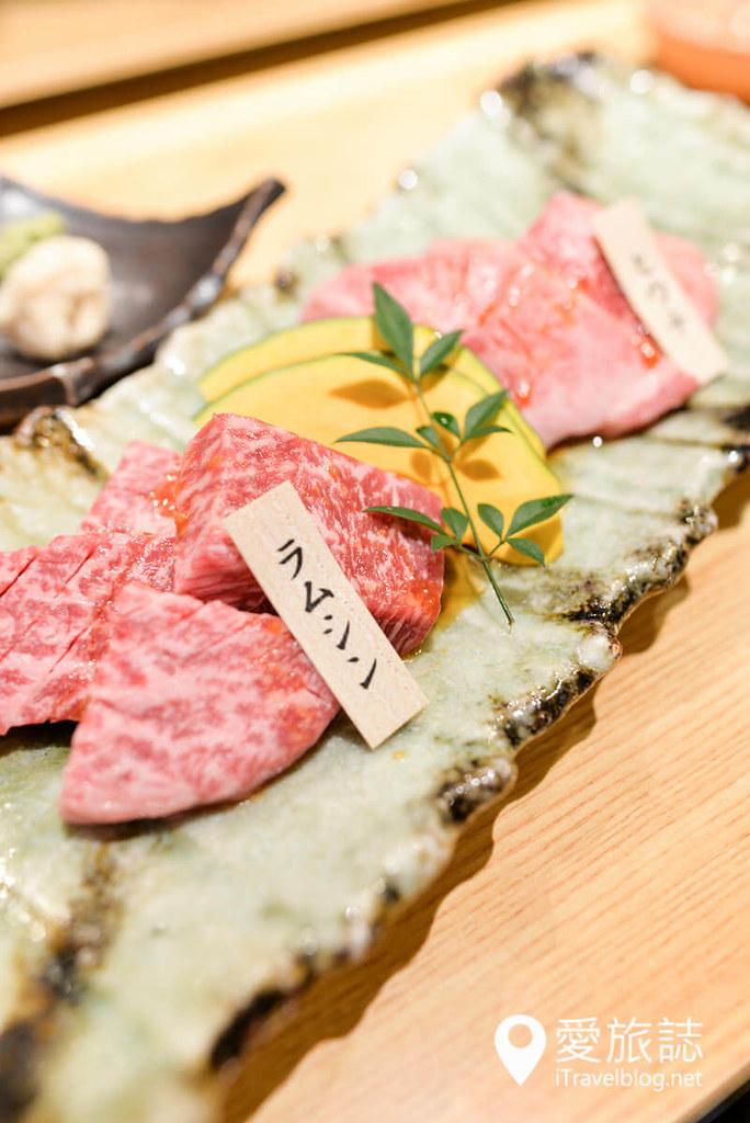 《大阪美食餐厅》大和烧肉やまとく:鹤桥駅旁精致日式烤肉餐厅,俩人用餐就摒弃吃到饱烤肉吧