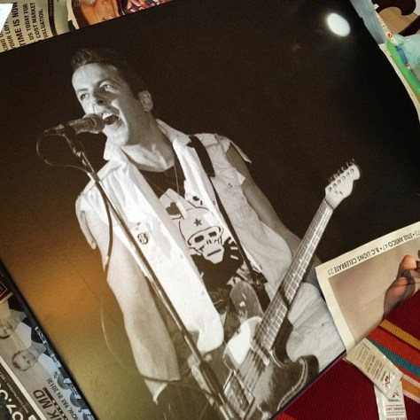 Unwrapping new @bevdavies original - Uncle Joe at US fest #theclash #punk