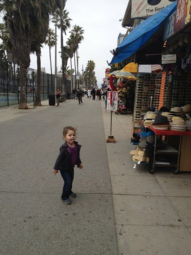 dancing on the venice boardwalk