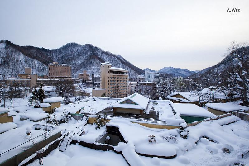 View of Jozankei 定山溪
