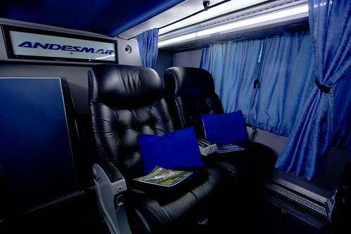 Interior autocar argentino