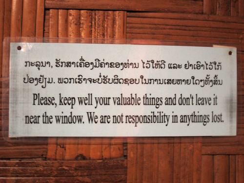not responsibility