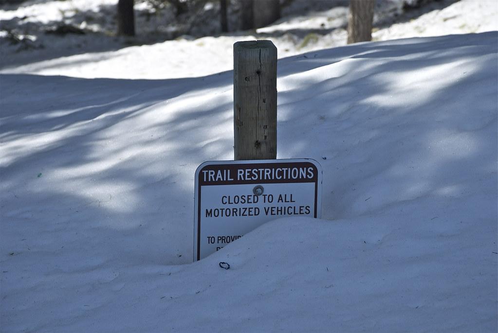 Blossom Lake trail head