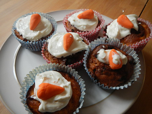 Babbit day - carrot cakes