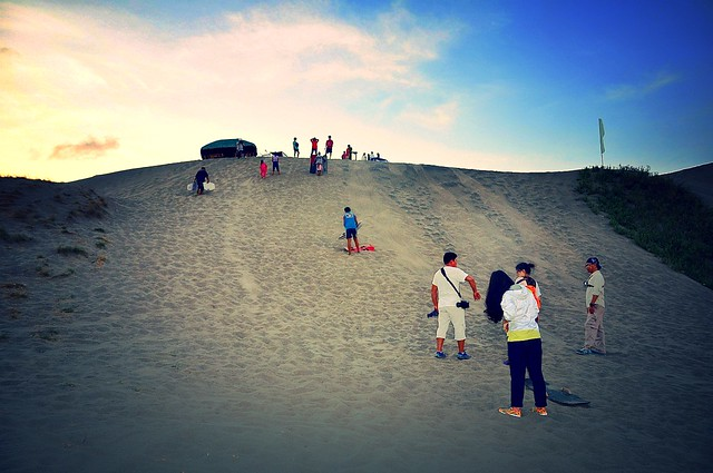 Laoag Sandboarding