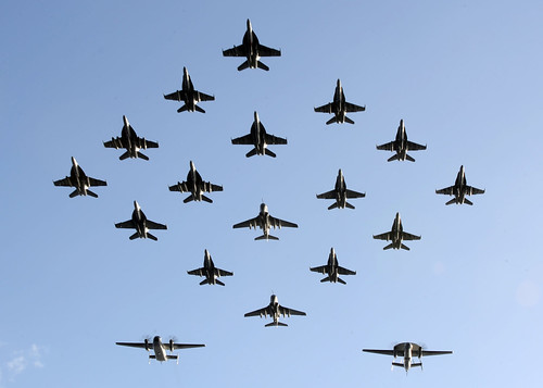 Aircraft demonstration air power. by Official U.S. Navy Imagery