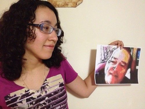 Foto con profesor by Charmaine Vazquez