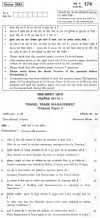 CBSE Class XII Previous Year Question Paper 2012 Trade Management Paper II