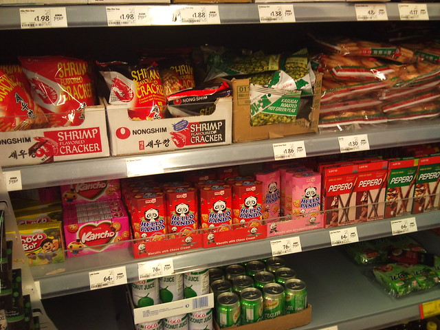 Asian food in Asda